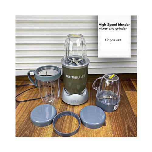 NutriBullet 12-Piece High-Speed Blender Mixer & Grinder
