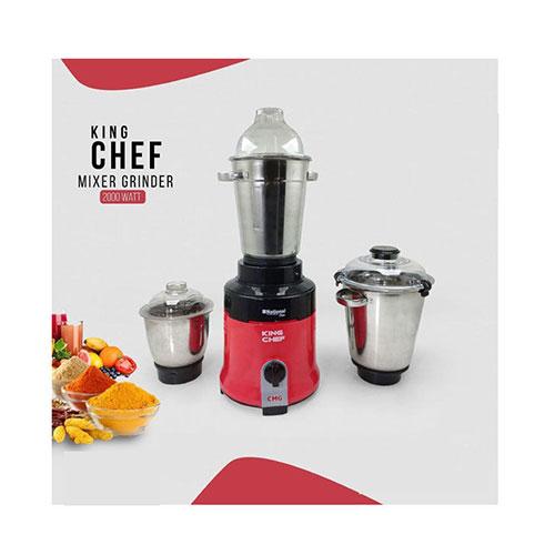 National View King Chef Blender and Mixer Grinder 2000 Watt