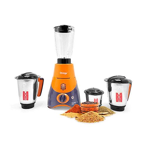 Orange Spectra Cosmo Pro 750watt 4 in1 Blender Grinder and Juicer